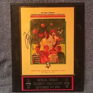 Other - Michael Jordan Celebrity Golf Classic Autographed
